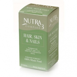 Nutra3 Complex Hair, Skin & Nails